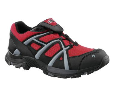 Haix Black Eagle Adventure 30 Flame Low Gr.9 schw./rot