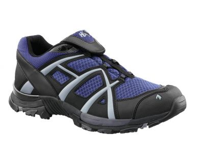 Haix Black Eagle Adventure 30 Sky Low Gr.7 schw./blau