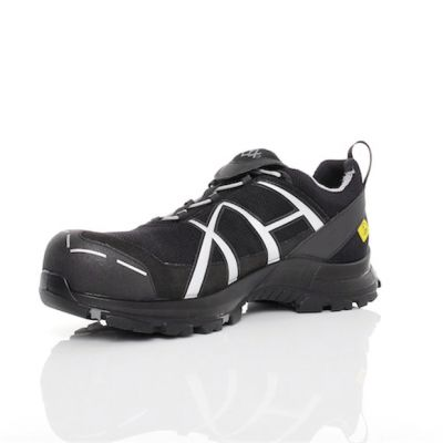 Haix Black Eagle Safety 41 Low Gr. 7,5 black/silver