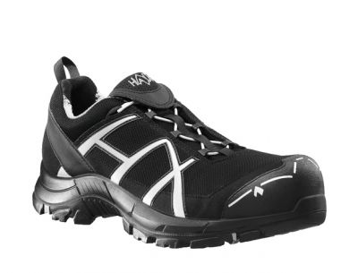 Haix Black Eagle Safety 41 Low Gr. 10, black/silver
