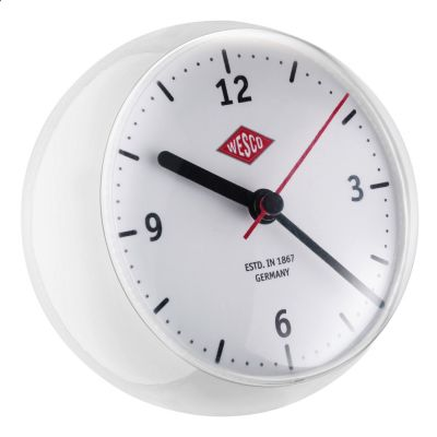Wesco Mini Clock weiß