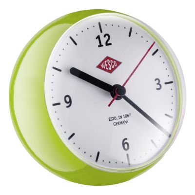 Wesco Mini Clock limegreen