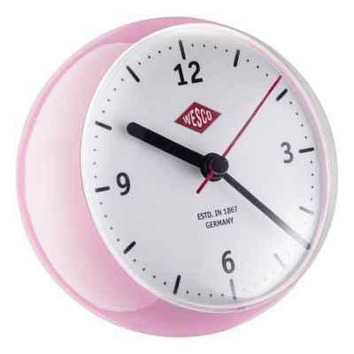 Wesco Mini Clock pink