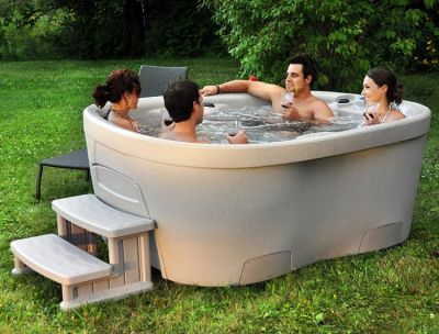 Interline Spa Roto Molded Whirlpool, 4-6 Personen Wellness