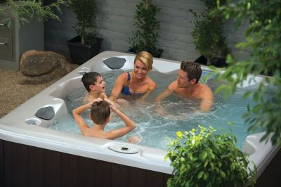 Interline Spa Sedan Whirlpool, 6 Personen Wellness