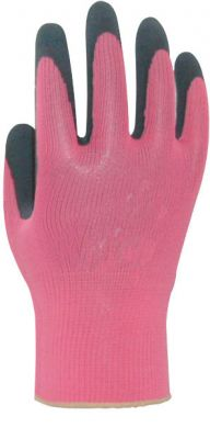 Handschuh SoftCareFlora Pink S